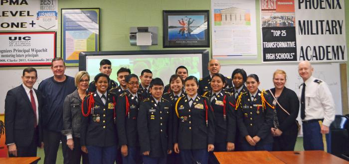 Implementing High School JROTC Career Academics